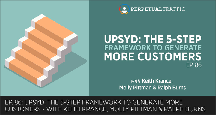 Episode 86: UPSYD: The 5-Step Framework to Generate More Customers