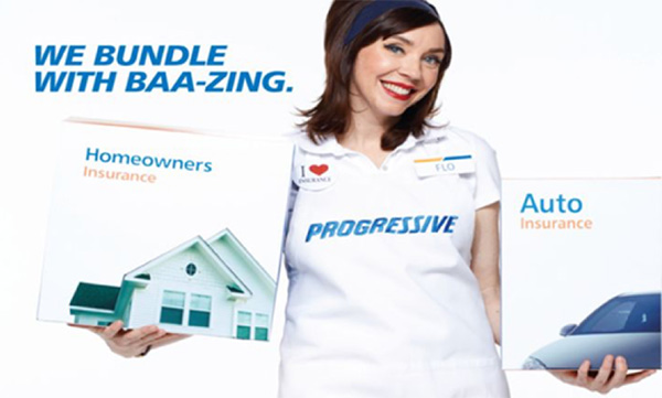 Bundling example from Progressive Insurance