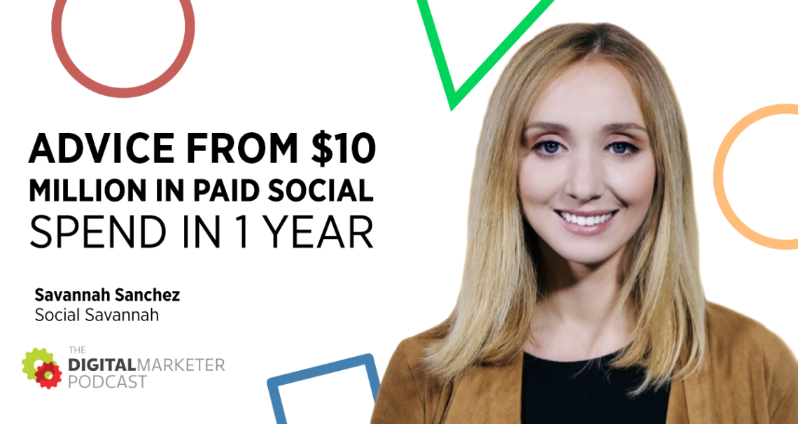 $10 million in paid social ad spend